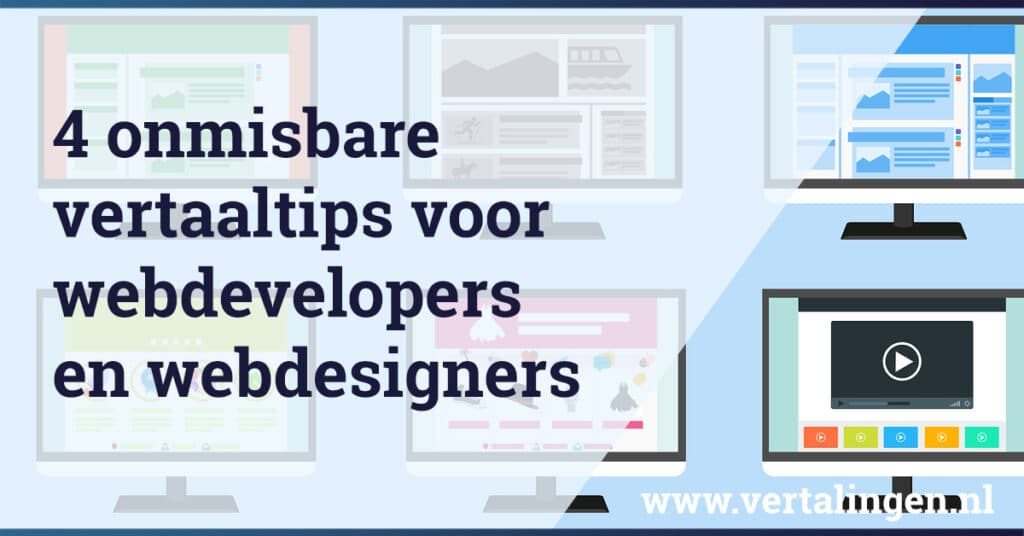 Vertaaltips webdevelopers