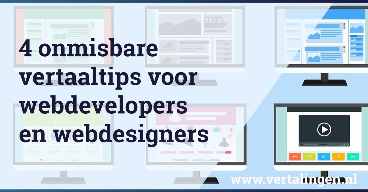 Vertaaltips webdevelopers
